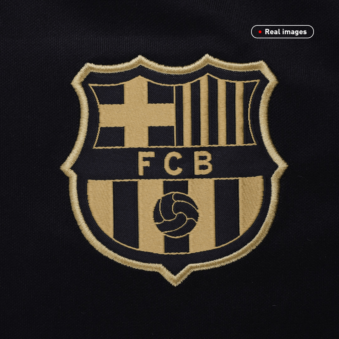 20/21 Barcelona Away Jersey Black Soccer Jerseys Shirt