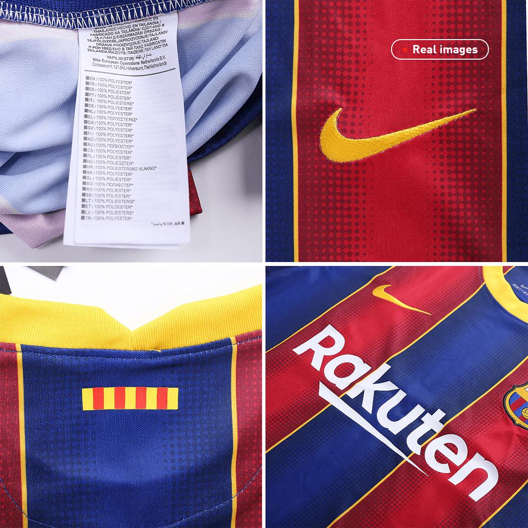 20/21 Barcelona Home Jersey Blue&Red Soccer Jerseys Shirt