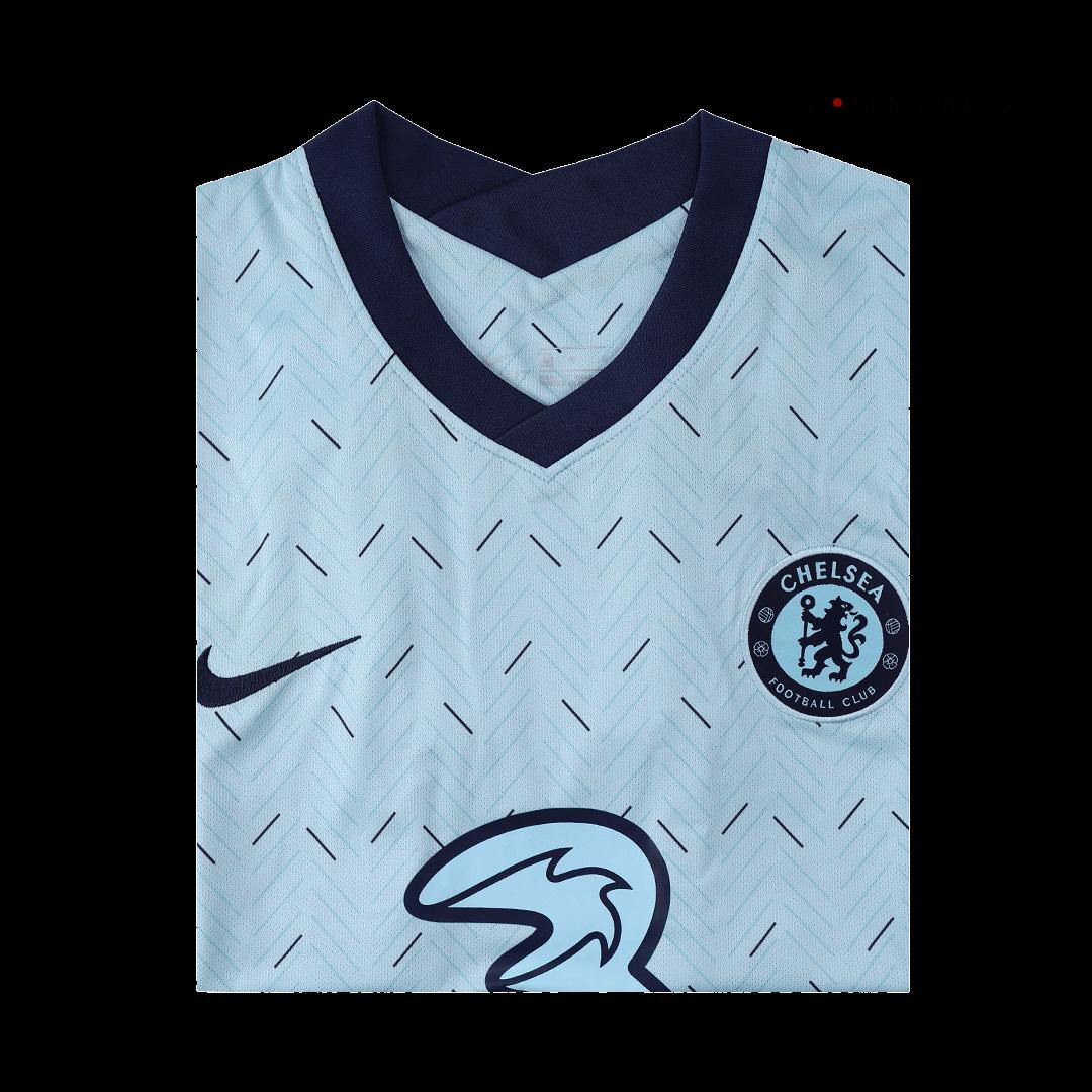 20/21 Chelsea Away Jersey Light Blue Soccer Jerseys Shirt