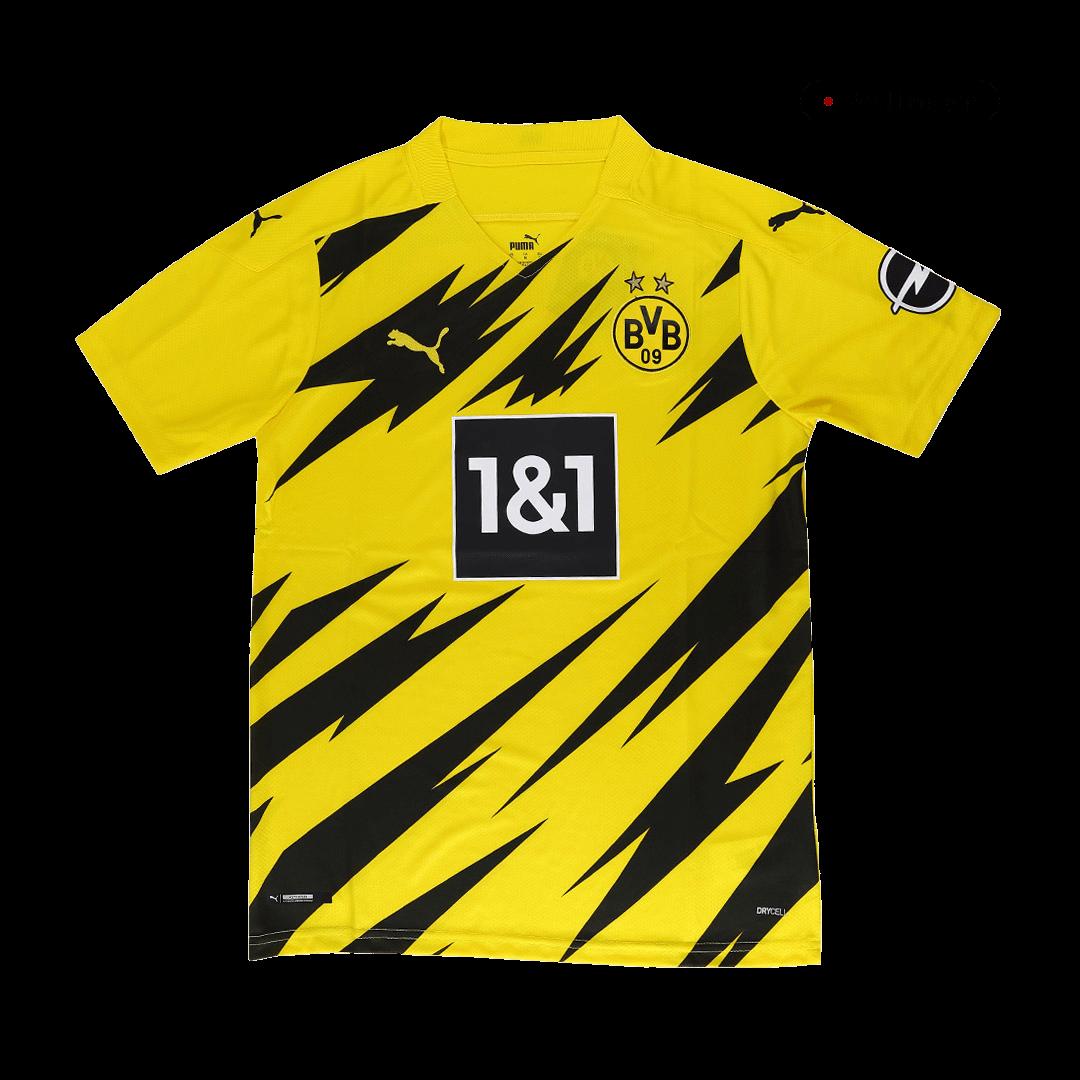 20/21 Borussia Dortmund Home Jersey Yellow Soccer Jerseys Shirt