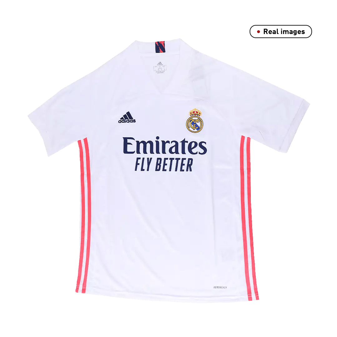 Eden Hazard #7 Real Madrid Home Jersey 2020/21 By Adidas