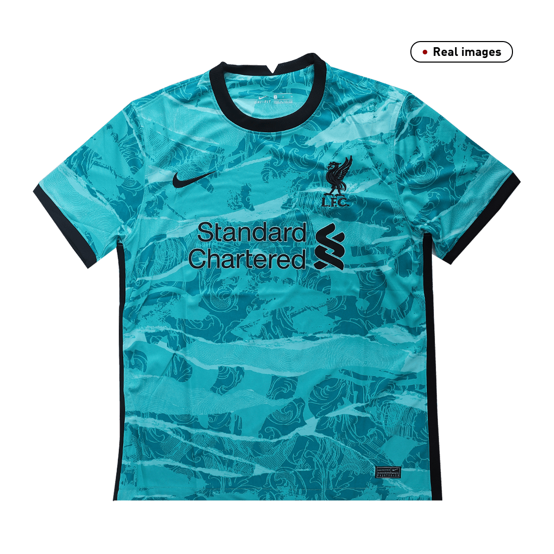 Virgil Van Dijk #4 Liverpool Away Jersey 2020/21 By Nike