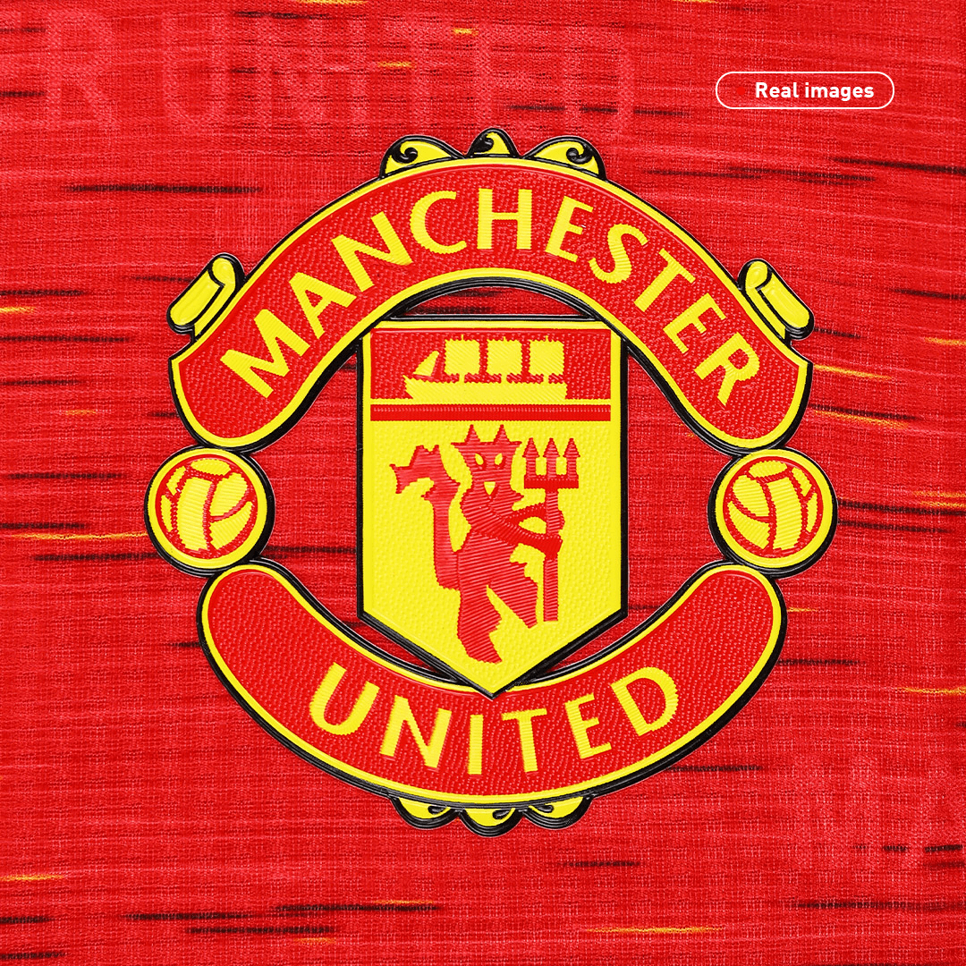 Authentic Manchester United Home Jersey 2020/21 By Adidas