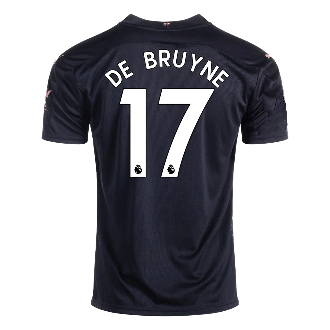 Kevin De Bruyne #17 Manchester City Away Jersey 2020/21 By Puma