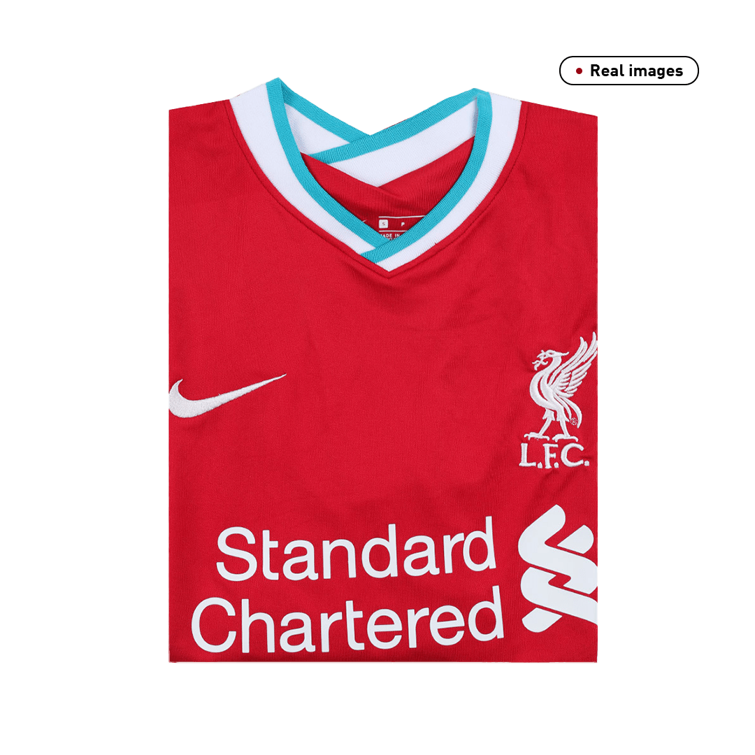 Virgil Van Dijk #4 Liverpool Home Jersey 2020/21 By Nike