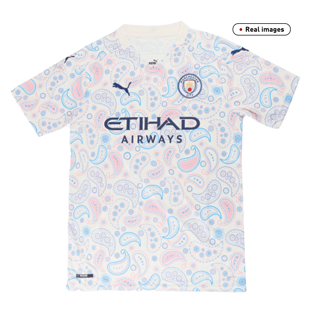 Kevin De Bruyne #17 Manchester City Third Away Jersey 2020/21 By Puma
