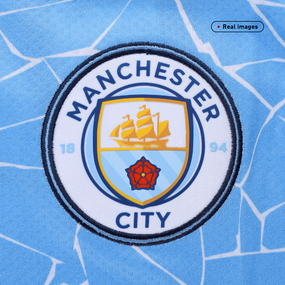 Kevin De Bruyne #17 Manchester City Home Jersey 2020/21 By Puma
