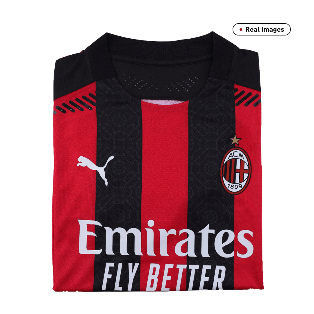 Authentic AC Milan Home Jersey 2020/21 By Puma
