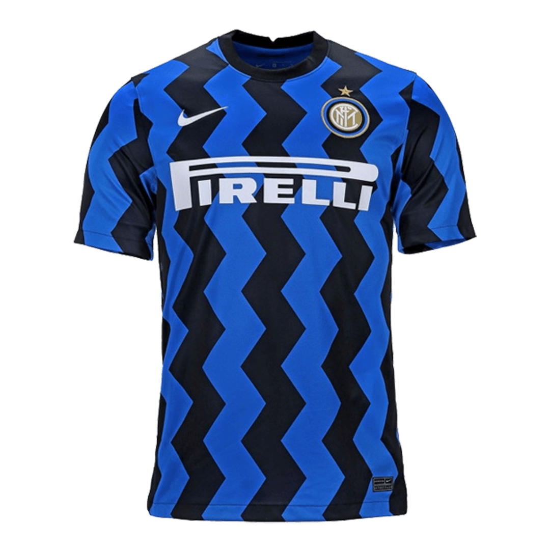 20/21 Inter Milan Home Authentic Jersey Blue&Black Soccer Jerseys Shirt