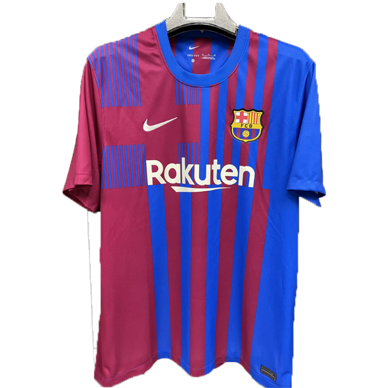 21/22 Barcelona Home Blue&Red Soccer Jerseys Shirt