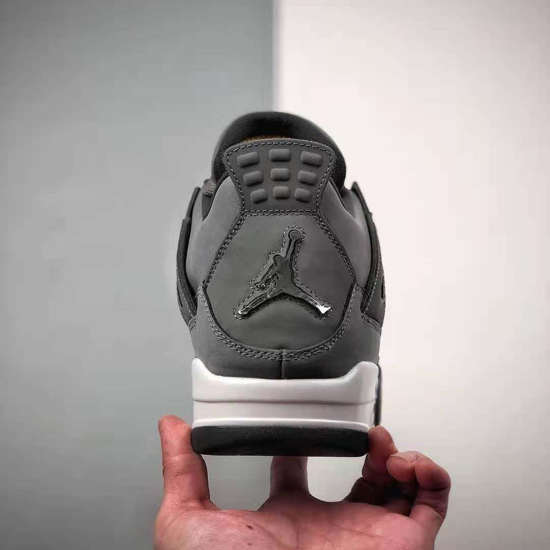 """Air Jordan 4 """"Cool Grey"""" Gray Cleat"""
