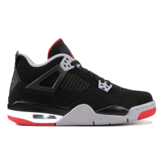 Sneakers By Nike Air Jordan 4 Retro Bred Black