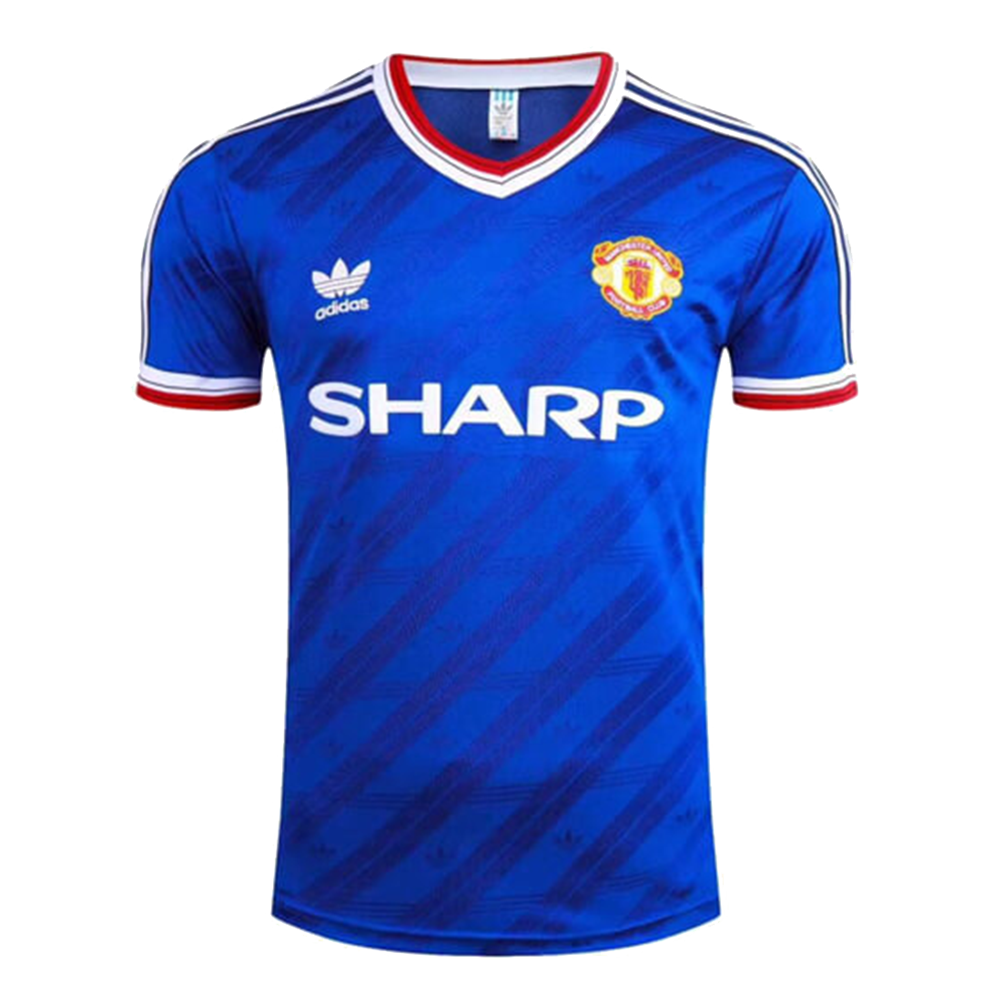 Retro Manchester United Away Jersey 1986 By Adidas