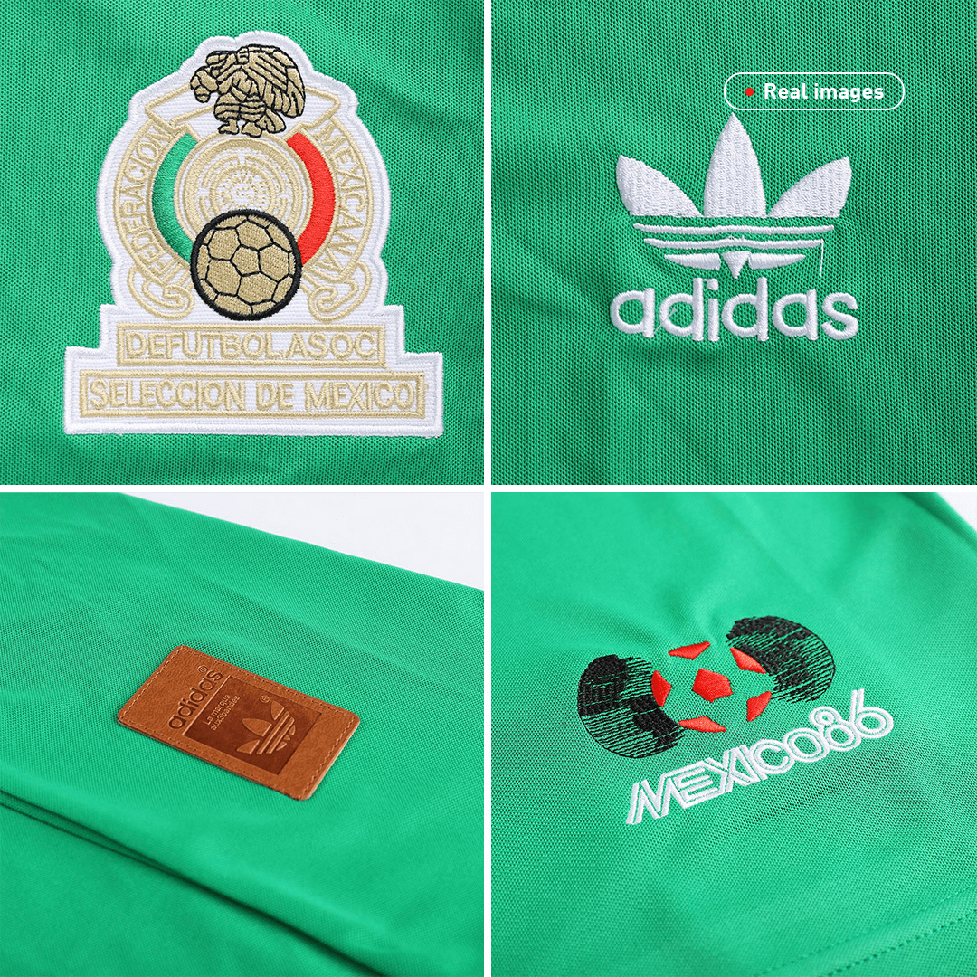 Retro Mexico Home Jersey 1986 By Adidas