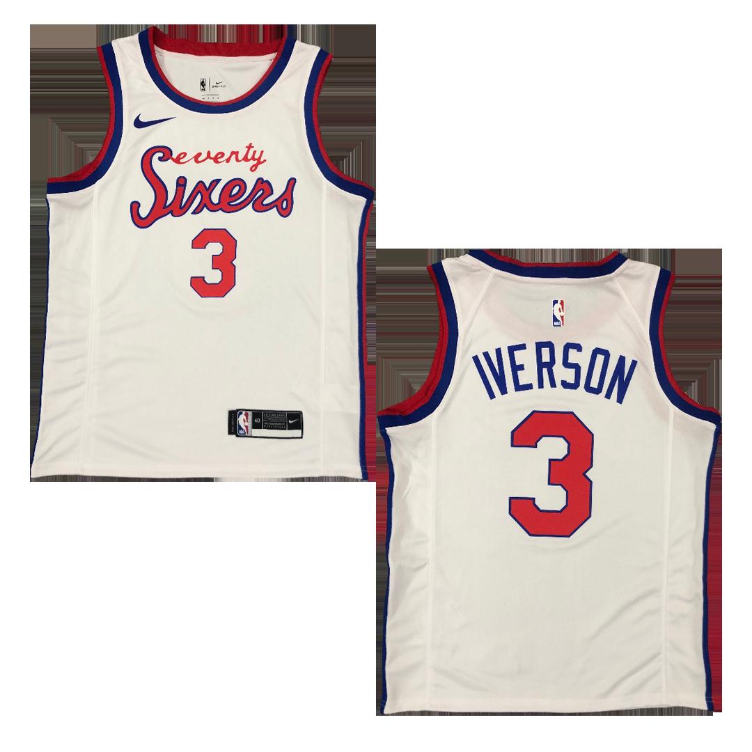 Swingman IVERSON #3 Philadelphia 76ers NBA Jersey 2019/20 By Nike