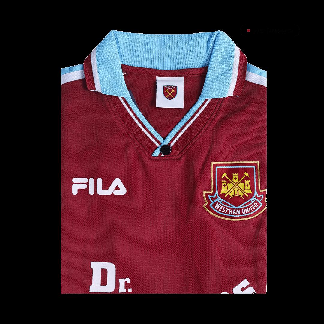 Retro West Ham United Home Jersey 1999/01