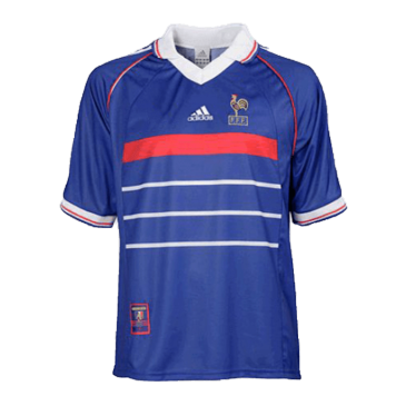Retro France Home Jersey 1998 By Adidas