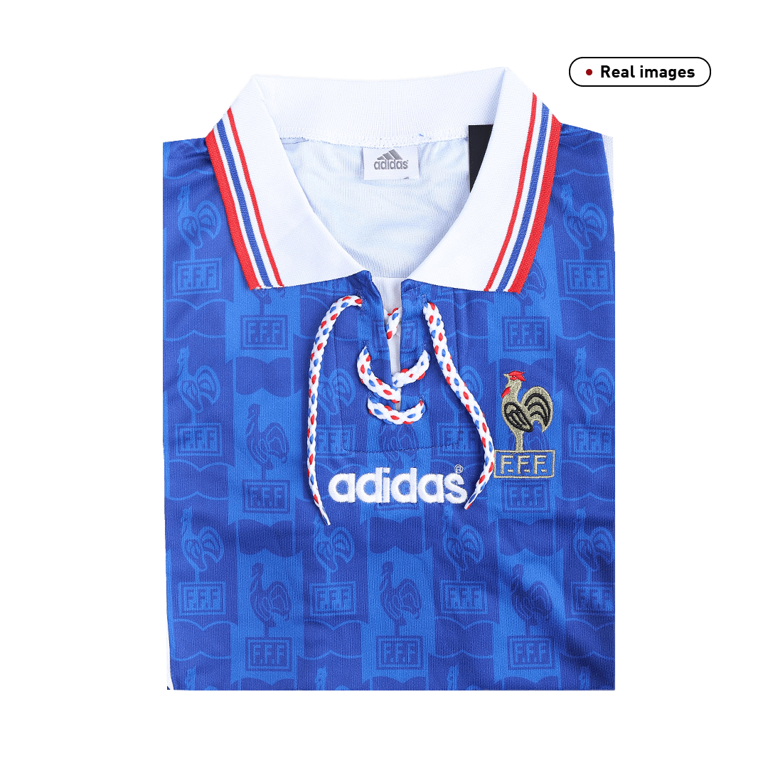 Retro France Home Jersey 1996 By Adidas