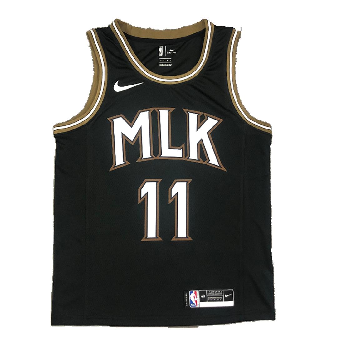 Swingman Trae Young #11 Atlanta Hawks Jersey 2021 By Nike Black