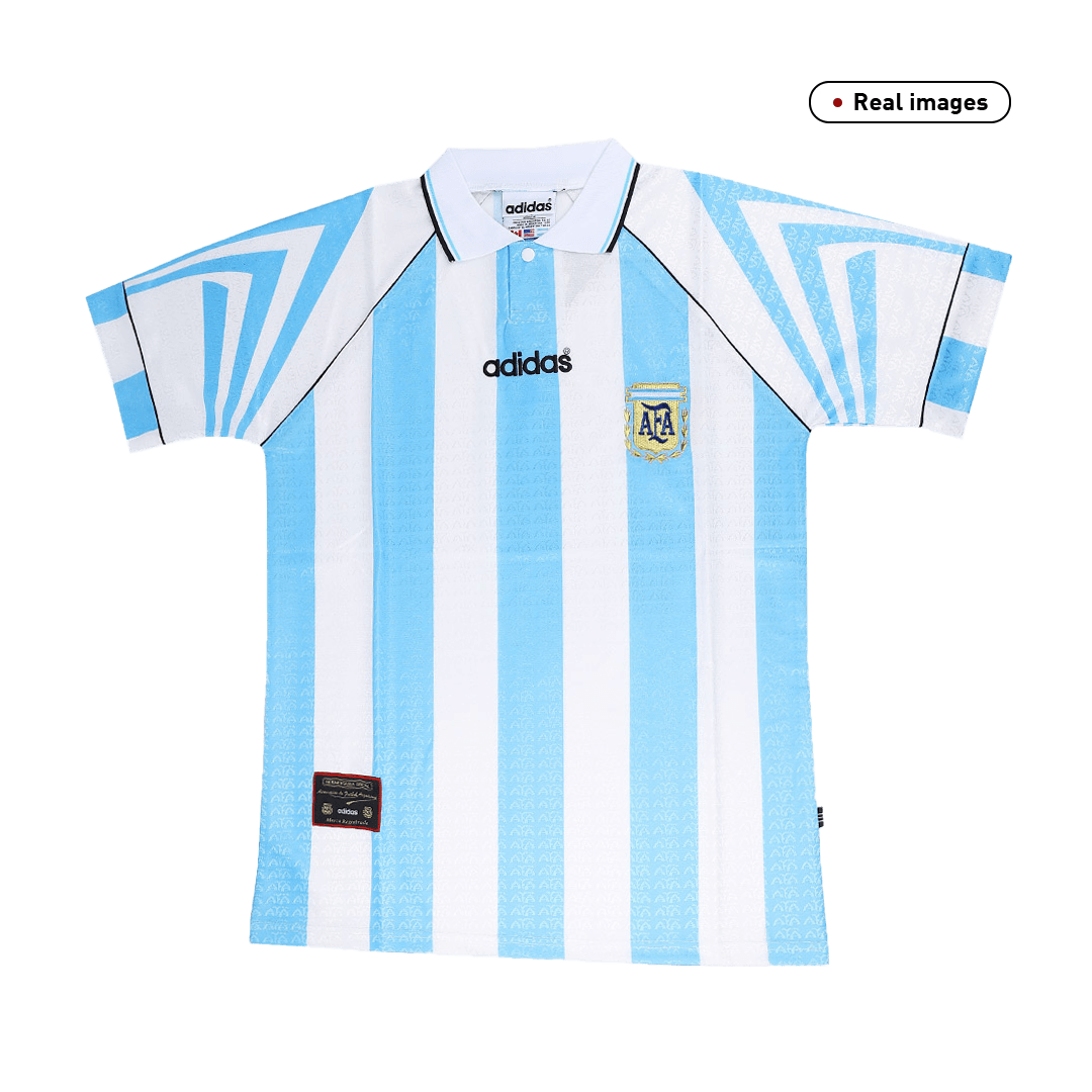 Retro Argentina Home Jersey 1996 By Adidas