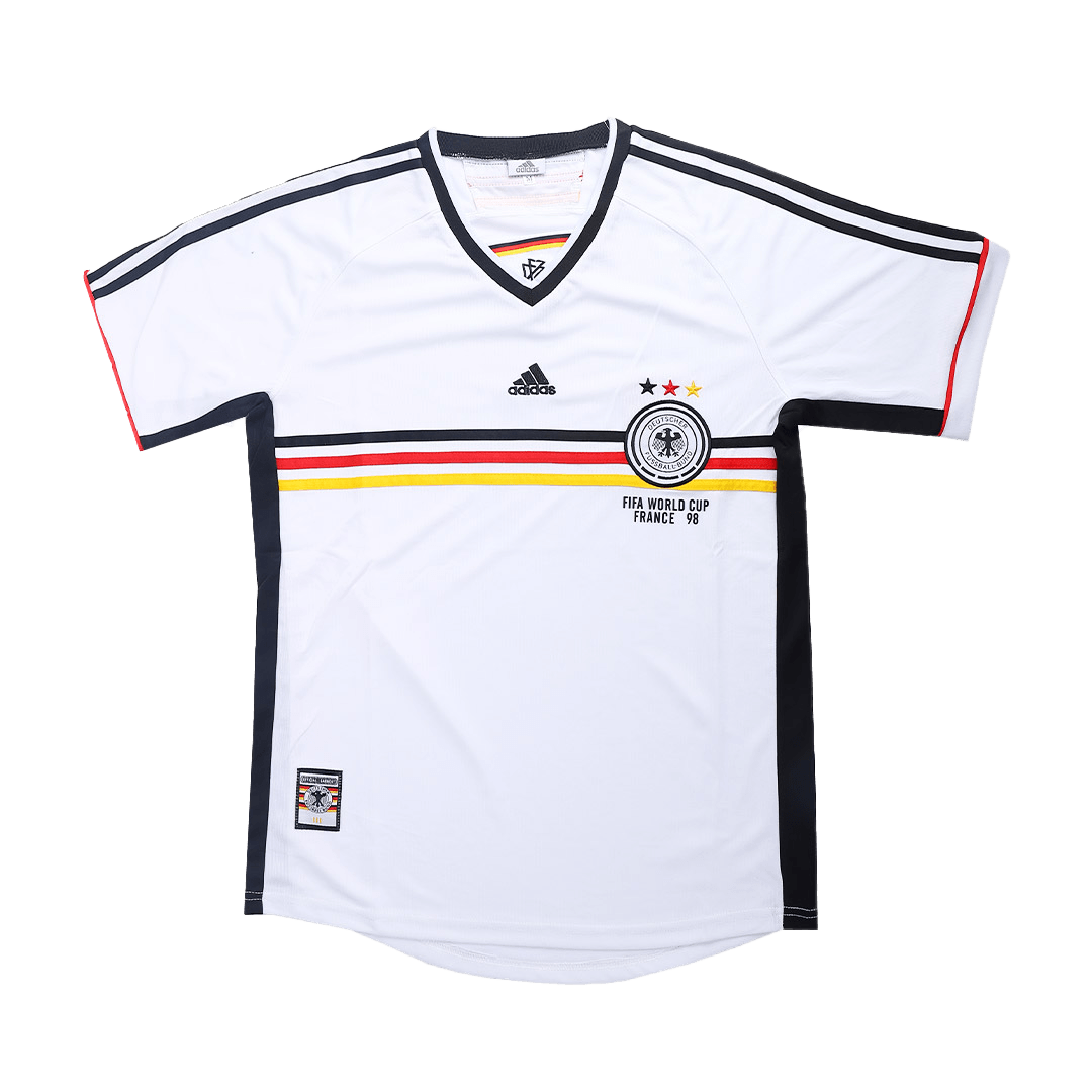Retro Germany Home Jersey 1998 By Adidas