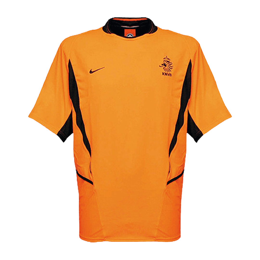 Retro Netherlands Home Jersey 2002 By Nike