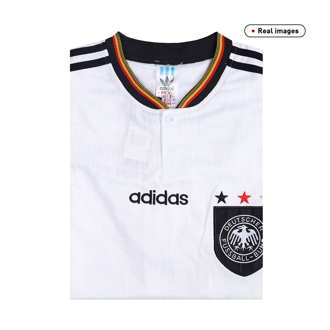 Retro Germany Home Jersey 1996 By Adidas