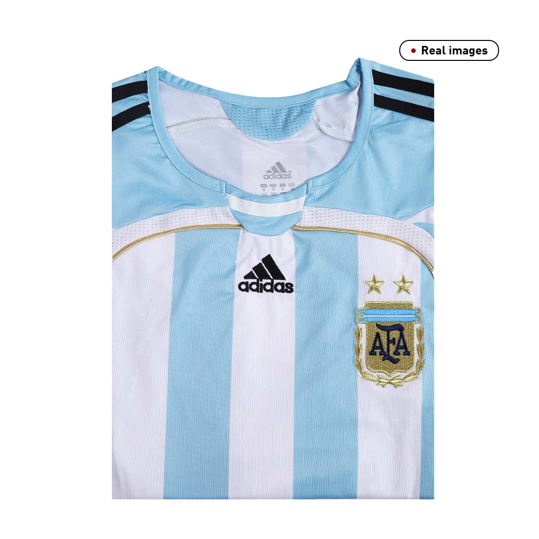 Retro Argentina Home Jersey 2006 By Adidas