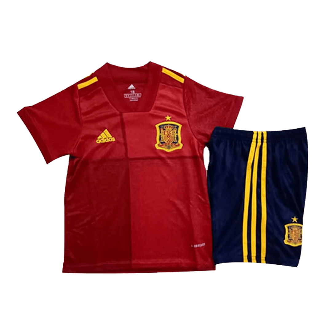Spain Home Kit 2020 By Adidas Kids
