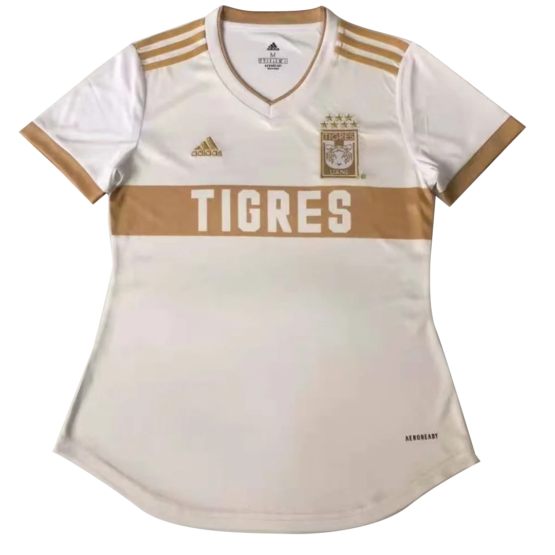 2021 Tigres UANL Third Away Jersey White Soccer Women's Shirt
