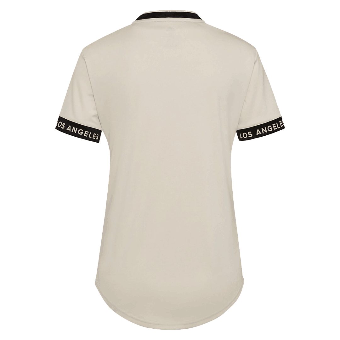 2021 Los Angeles FC Away Jersey White Women's Soccer Jerseys Shirt