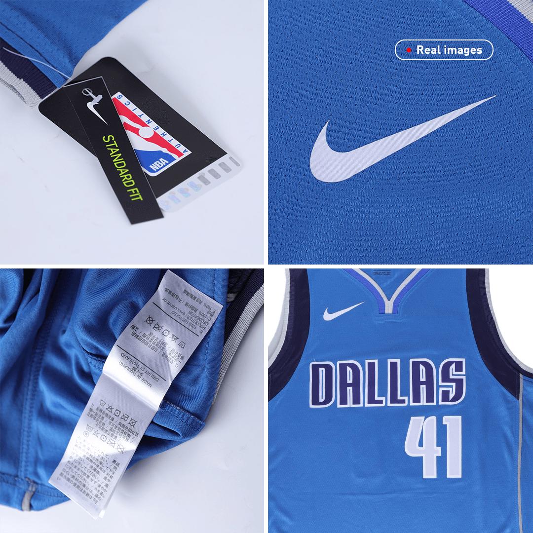 Swingman Dirk Nowitzki #41 Dallas Mavericks Jersey By Nike Royal