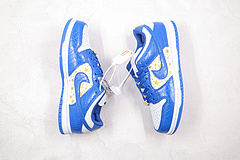 Sneakers By Nike SB Dunk Low Supreme Stars Hyper Royal