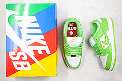 Sneakers By Nike SB Dunk Low Supreme Stars Mean Green