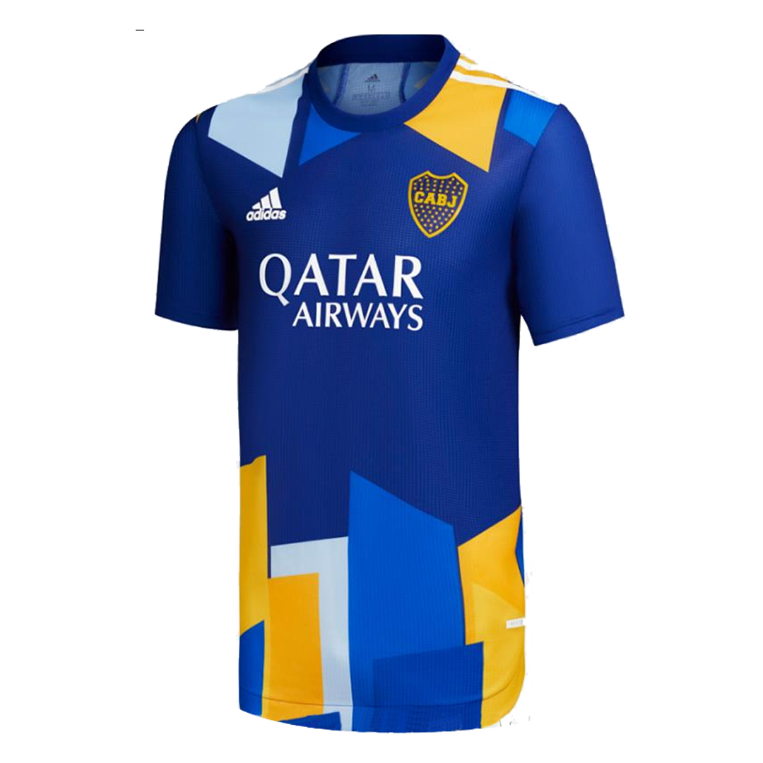 Replica Boca Juniors Fourth Away Jersey 2021/22 By Adidas