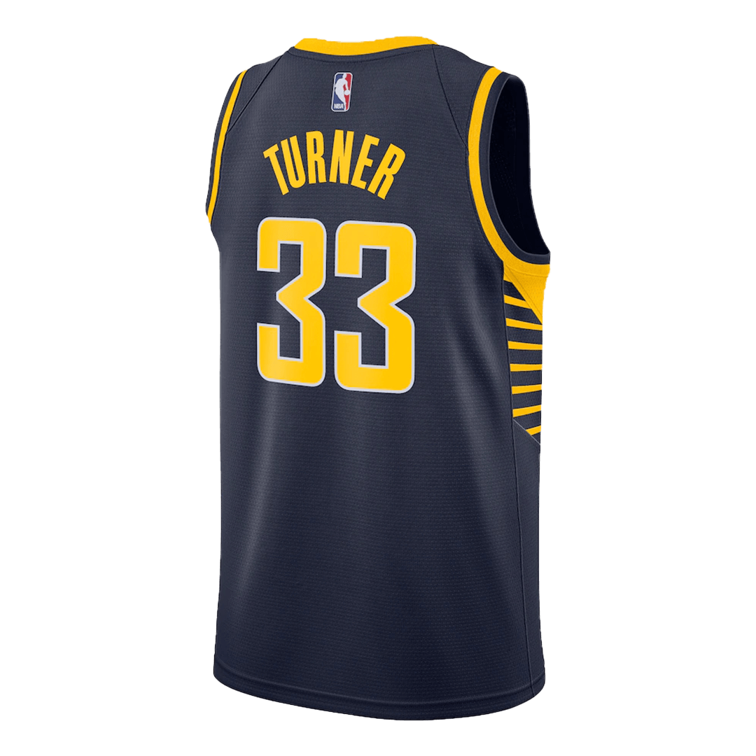 Swingman Myles Turner #33 Indiana Pacers Jersey By Nike Navy