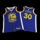 Swingman Stephen Curry #30 Golden State Warriors Jersey 2019/20 By Nike Blue