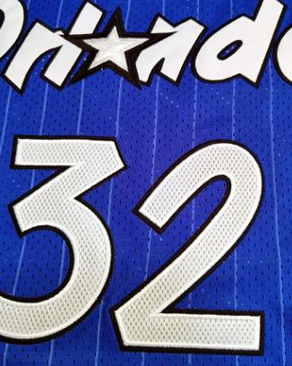 Retro Neal #32 Orlando Magic Jersey 1994/95 By Mitchell & Ness Blue