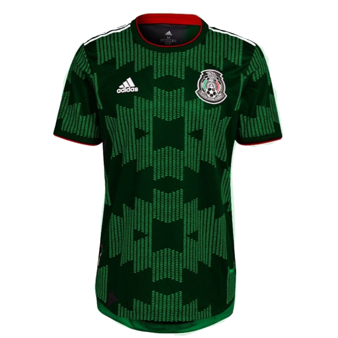 Replica Mexico Home Gold Cup Jersey 2021 By Adidas