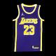 Swingman LeBron James #23 Los Angeles Lakers Jersey 2020/21 By Jordan Purple
