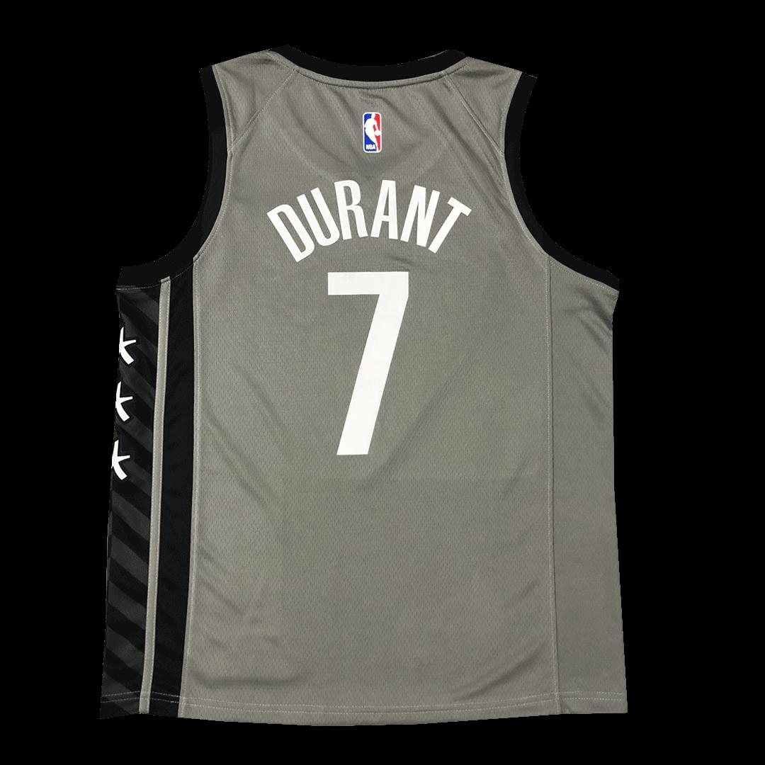 Swingman Durant #7 Brooklyn Nets Jersey 2020/21 By Jordan Gray