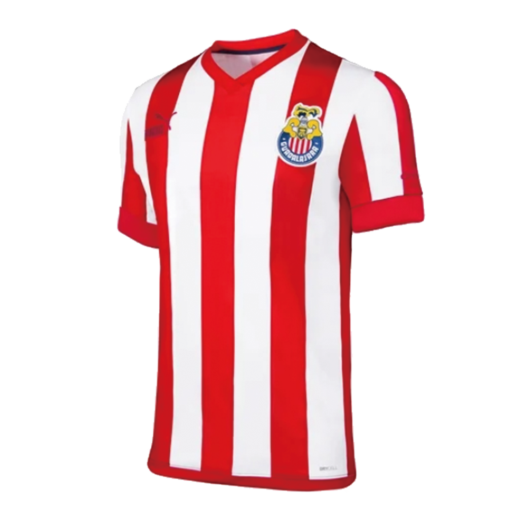 Retro Chivas Home Jersey 115th Anniversary By Puma