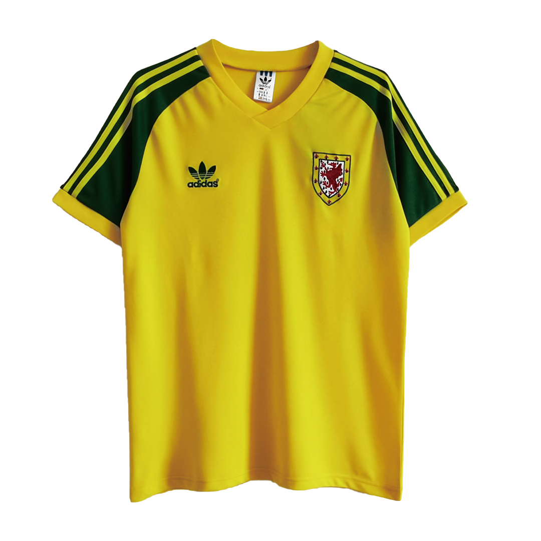Retro Wales Away Jersey 1982 By Adidas