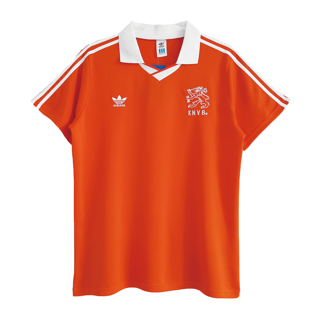 Retro Netherlands Home Jersey 1990/92 By Adidas