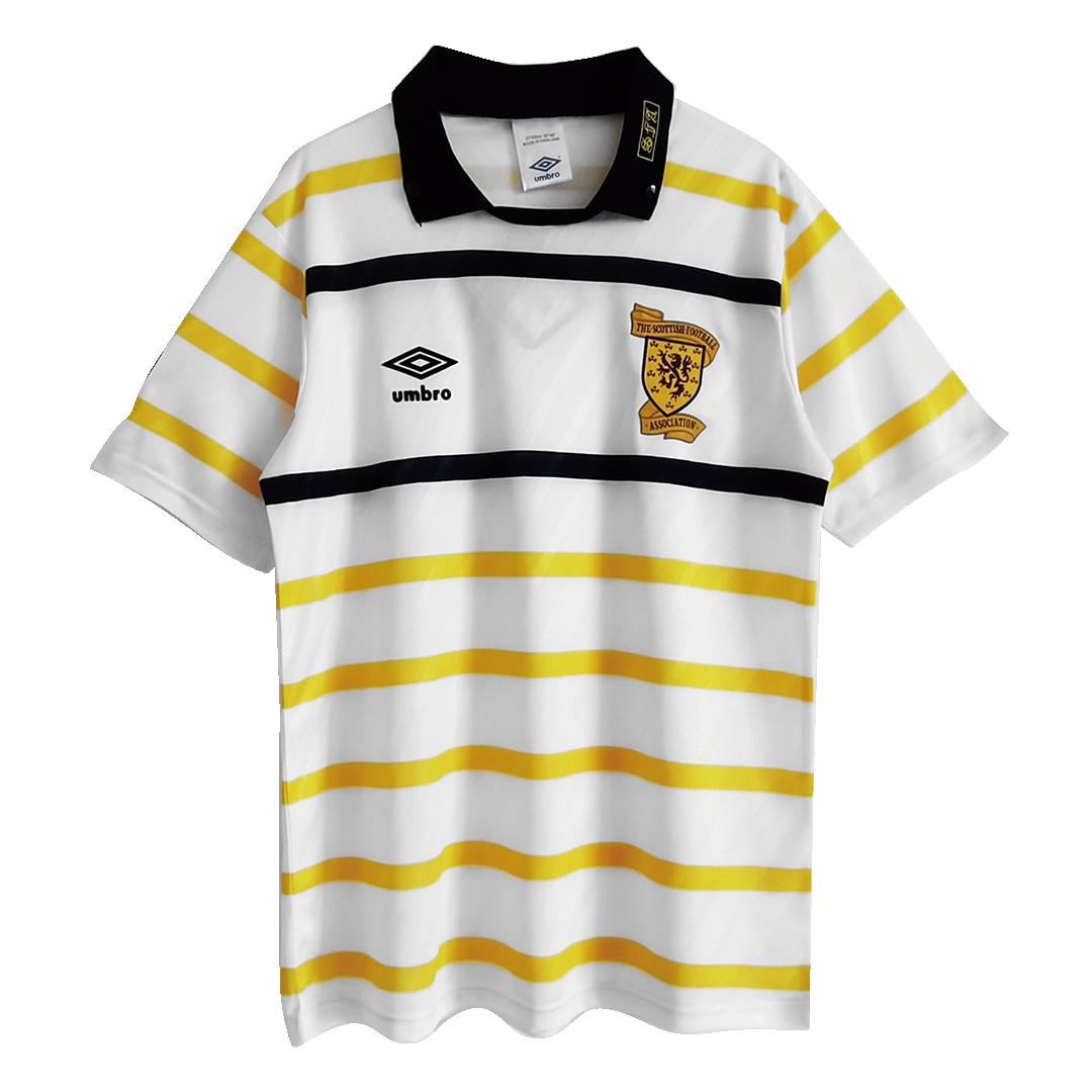 Retro Scotland Away Jersey 1988/91 By Umbro