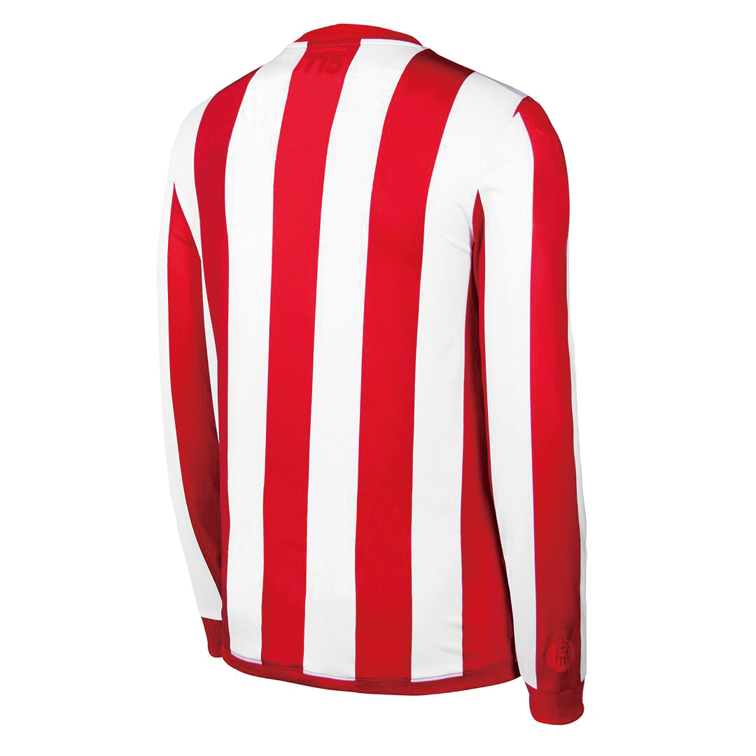Retro Chivas Home Long Sleeve Jersey 115th Anniversary By Puma