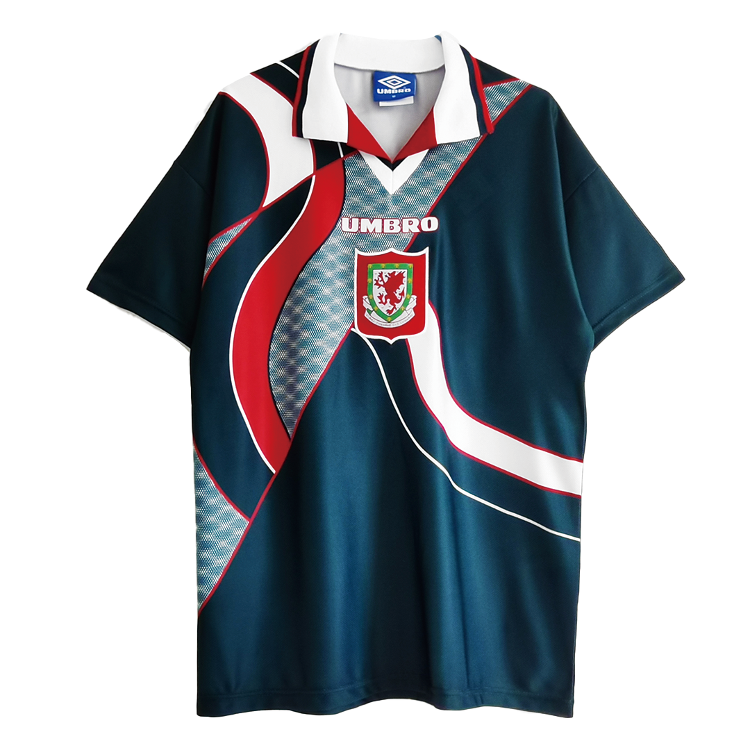 Retro Wales Away Jersey 1994/95 By Umbro
