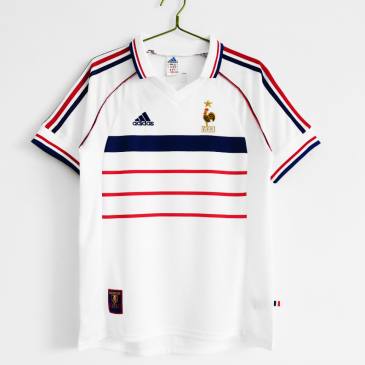 Retro France Away Jersey 1998 By Adidas