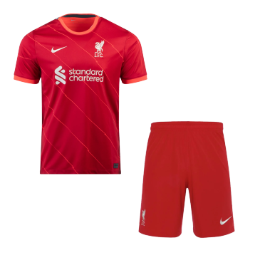 Liverpool Home Kit 2021/22 By Nike
