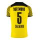 Replica ZAGADOU #5 Borussia Dortmund Home Jersey 2021/22 By Puma